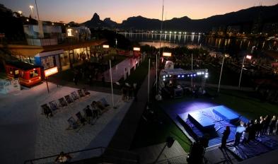Rio de Janeiro (RJ) ,01/08/2016, PRESS TOUR: abertura da Casa da Suíça e legado para o baseball.na Lagoa. Foto: Fabio Gonçalves