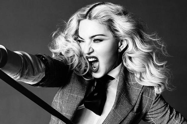 Com a palavra,Madonna