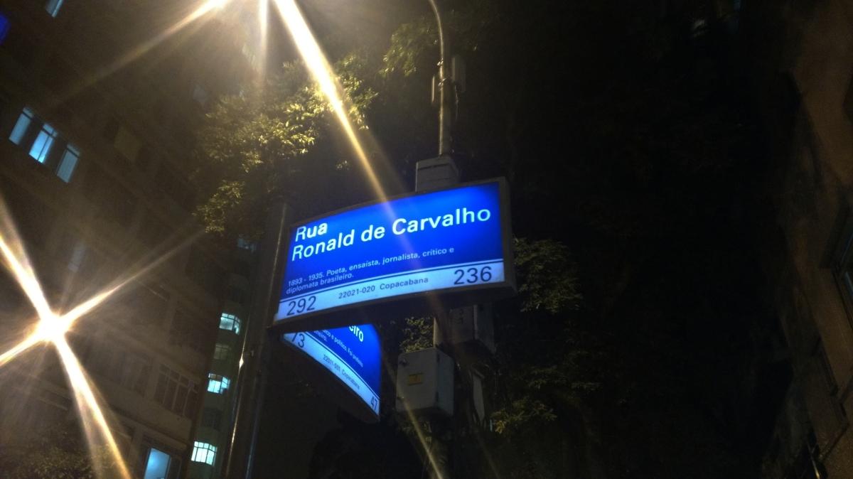 Rua Ronald de Carvalho: o novo point deCopacabana